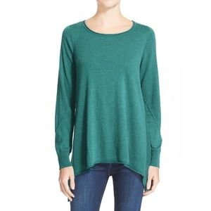 Joie Letitia B Scoop Neck Asymmetrical Sweater